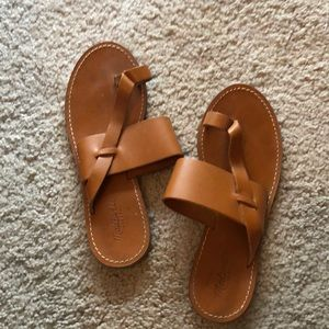 Madewell sandals size 8